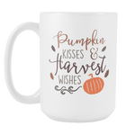Pumpkin Kisses Mug 15 oz