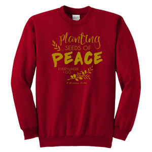 Planting Peace Youth Sweatshirt