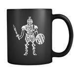 Armor of God Black Mug