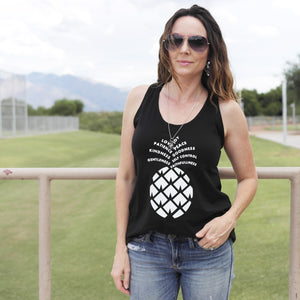 Ladies Fruit of the Spirit Pineapple Tank