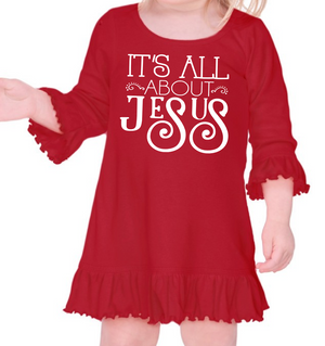 It's All About Jesus Dress