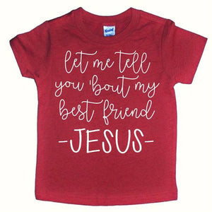 Best Friend Kids Tee