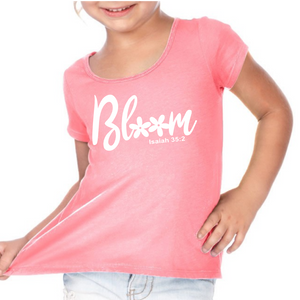 Bloom Girls Tee