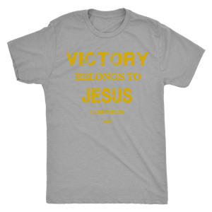 Victory Belongs to Jesus Unisex Tee