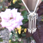 Custom Silver Arrow Necklace