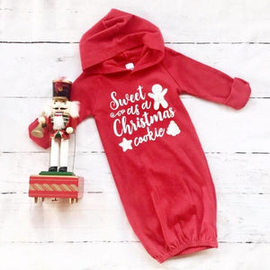 Christmas Cookie Hooded Gown