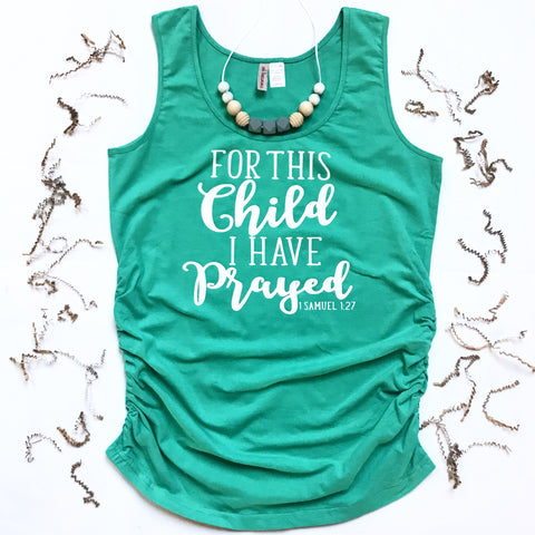 For This Child Maternity Top