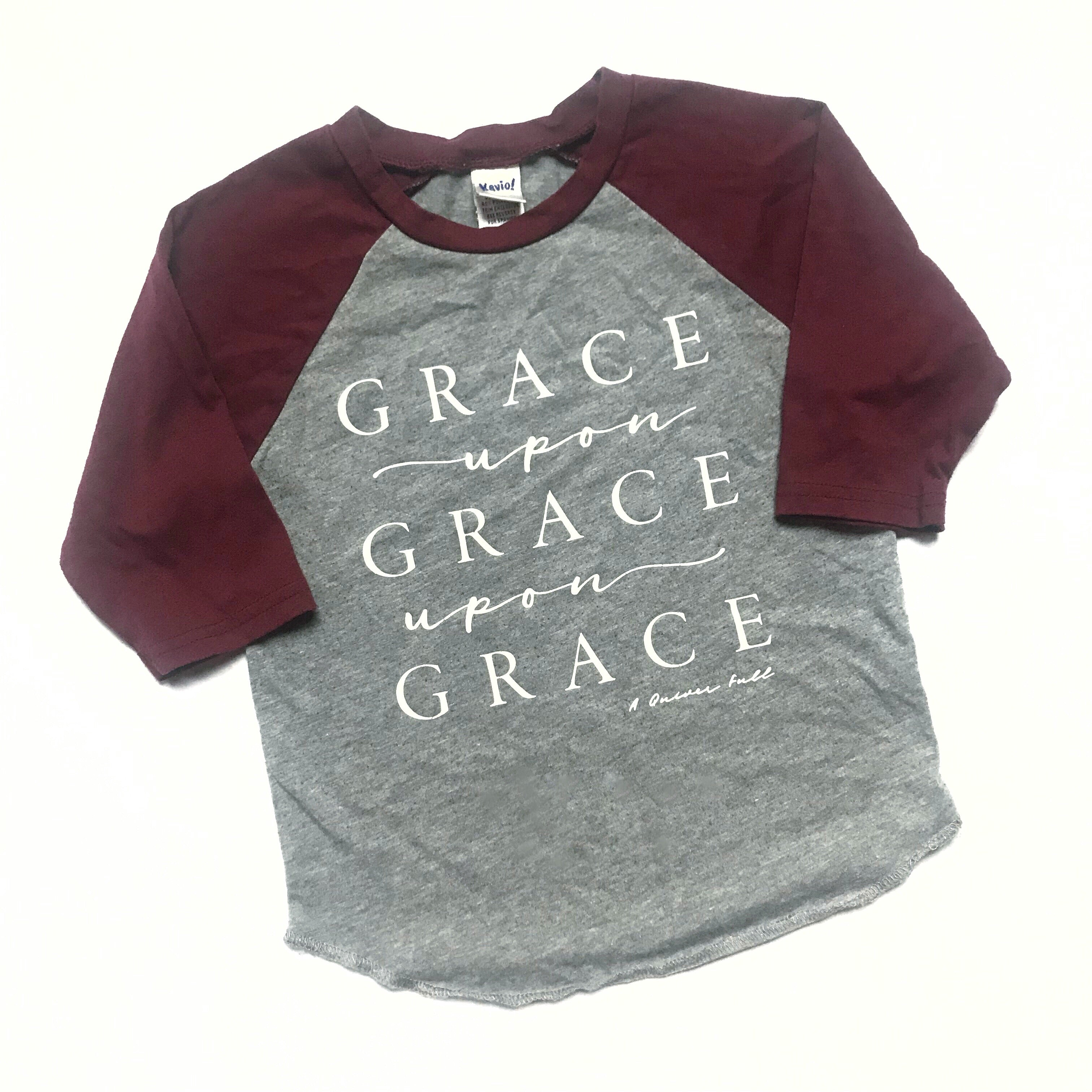 Grace Upon Grace Kids Raglan