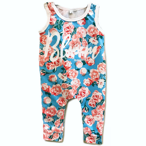 Bloom Floral Romper
