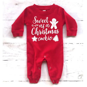 Christmas Cookie Romper