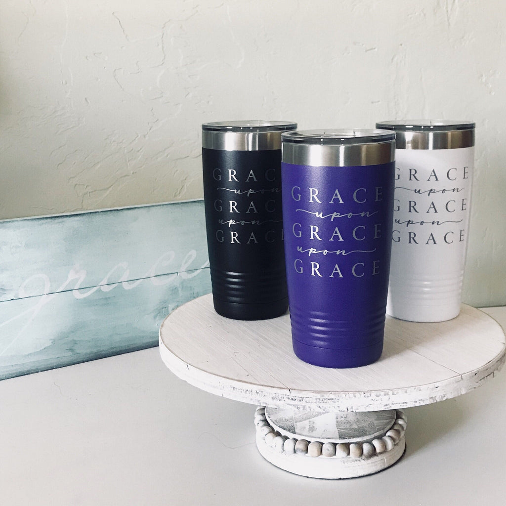 Grace Upon Grace 20oz Tumbler