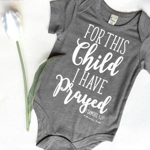 For This Child Tee/Onesie