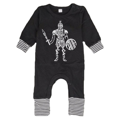 Armor of God Romper
