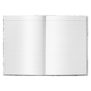 Just Passing Through Hardcover Journal