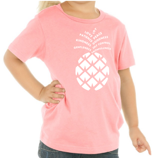Kids Fruit of the Spirit Pineapple Tee