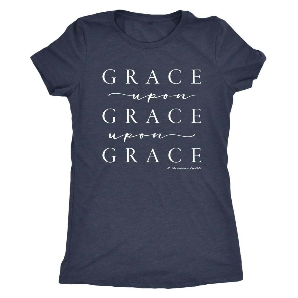 Ladies Fit Grace Upon Grace Tee