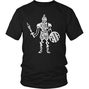 Armor of God Adult Unisex Tee