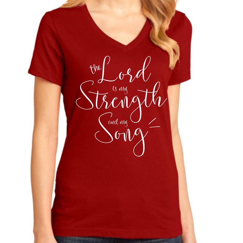 My Strength & My Song V-neck