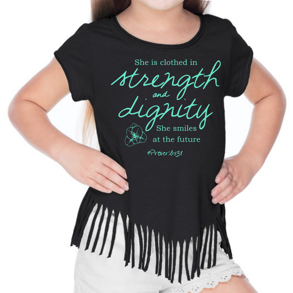 Strength & Dignity Girls Tee