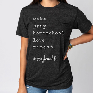 #stayhomelife Tee