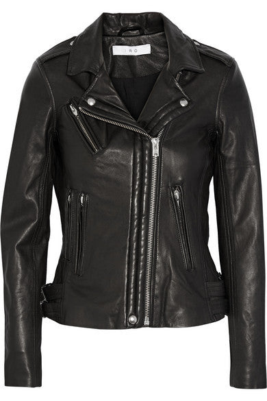 Iro Han leather biker jeacket