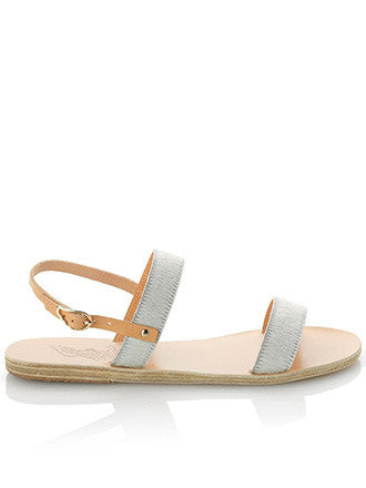 Ancient Greek Sandals | Clio White - Decker and Lee - 1