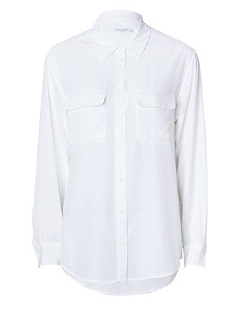 Equipment | Signature blouse bright white - Decker and Lee - 1