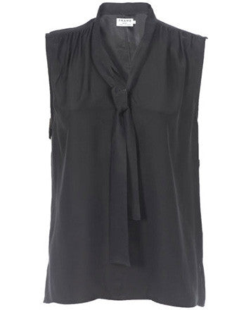 Frame Denim | Le Sleeveless Wrap Tie Shirt - Decker and Lee