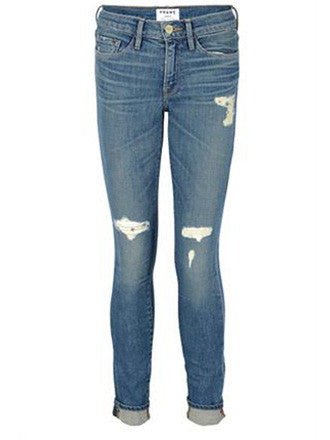 Frame Denim | Le Garcon Slim Boyfriend Jeans - Decker and Lee - 1