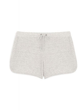 Fine Collection | Grey cotton shorts - Decker and Lee - 1