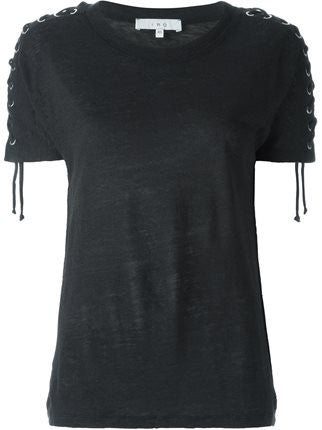 Iro Steiro tee in black