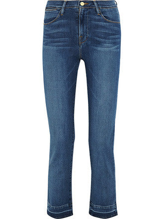 Frame Denim | Le High Cropped Slim Leg Jeans - Decker and Lee - 1