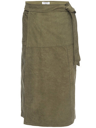 Frame Denim | Le Wrap Suede Skirt - Decker and Lee - 1