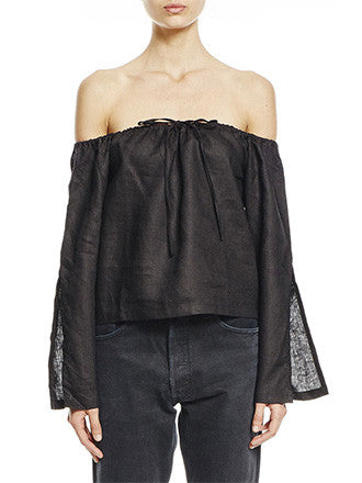 S.I.R The Label | Manon Split Sleeve Blouse - Decker and Lee