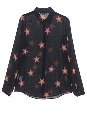 M.i.H Jeans | Evelyn Shirt Star Print