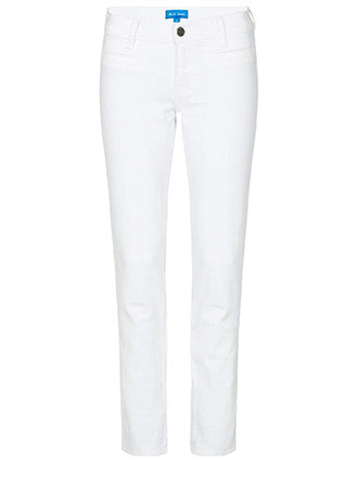 "M.i.H Jeans | ""Paris"" straight leg Jean in white"