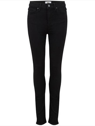 Paige Denim | Margot Ultra Skinny in Black Shadow