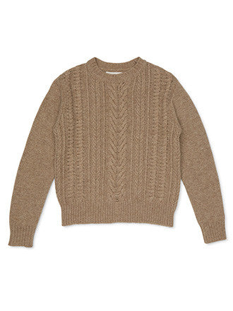 Ryder | Milo Cable Knit Oatmeal - Decker and Lee - 1