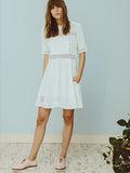 RYDER Camille Lace Dress White