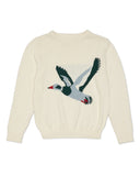 RYDER Duck Knit Sweater Cream