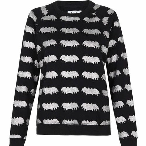 Zoe Karssen Bats All Over Loose Raglan Sweat