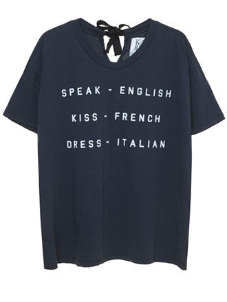 Zoe Karssen | Speak english Tee