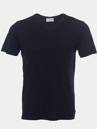 Frame Denim | Classic V Tee Navy - Decker and Lee - 1