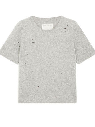 Fine Collection | Grey Cashmere Top - Decker and Lee - 1