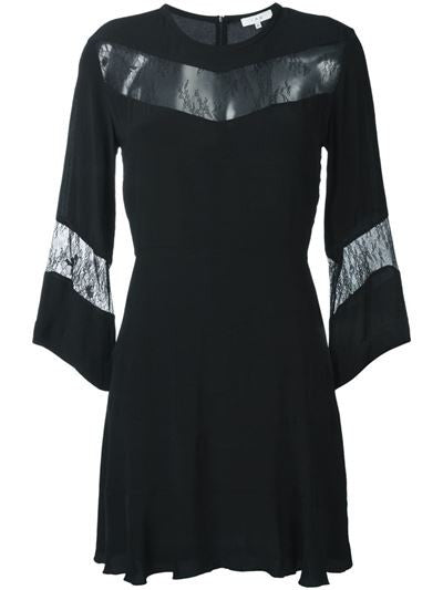 Iro Hania Lace Panel Dress