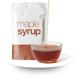 Maple Syrup in Overnight Oats Prepackaged Meals
