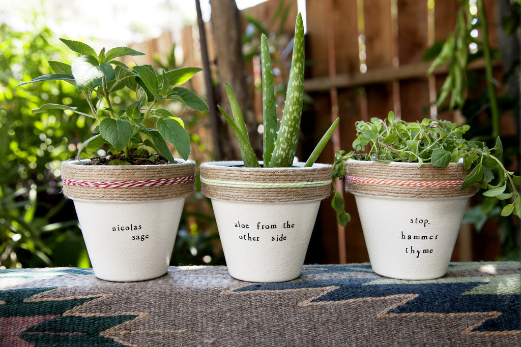 Plant Puns for Hostess Gifts