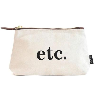 etc. Canvas Pouch {Maika}