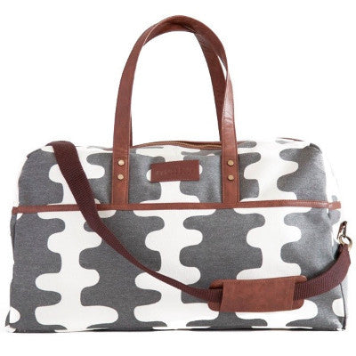 Echo Charcoal Duffel Bag {Maika}