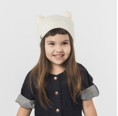 Teddy Beanie by Krochet Kids